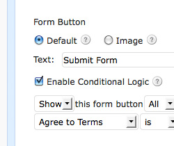 Conditional Logic In Web Forms