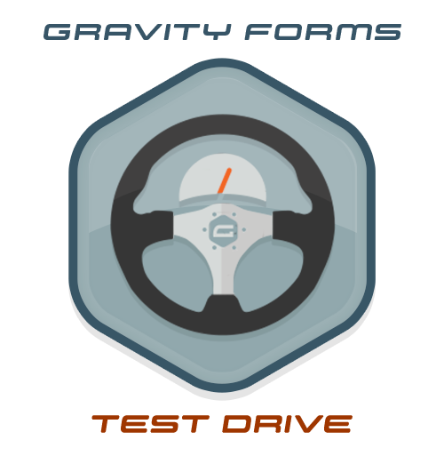 Test Drive Gravity Forms