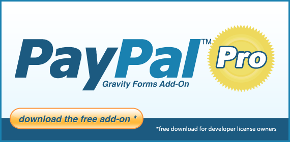 PayPal Payments Pro v1 0 Beta 2 Released | Gravity Forms